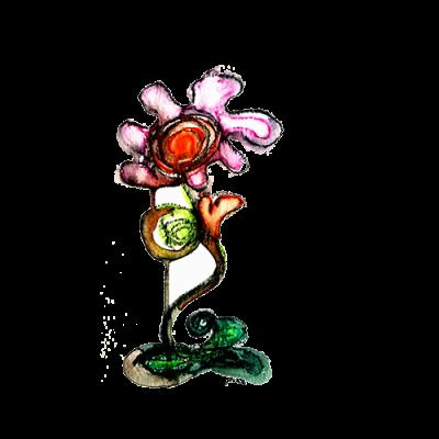 Gevoelige bloem